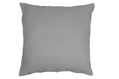 Funda almohada 2x45x85 gris