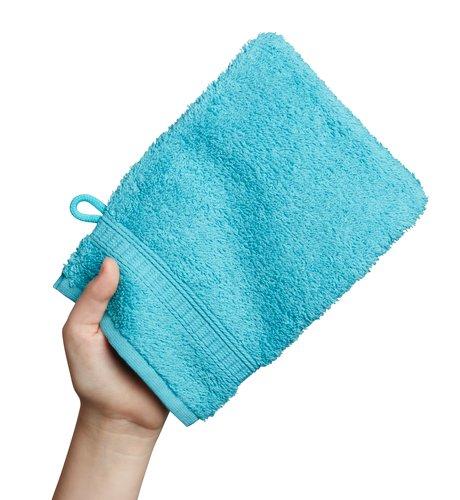 Manopla baño KRONBORG DE LUXE azul