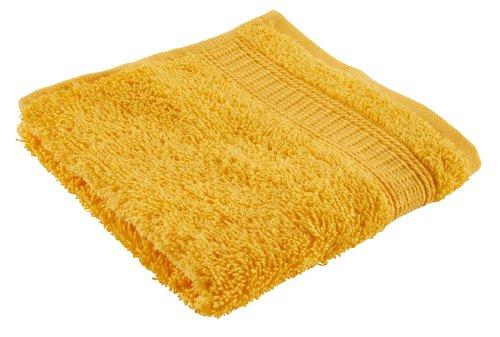 Toalha rosto KRONBORG DE LUXE amarelo