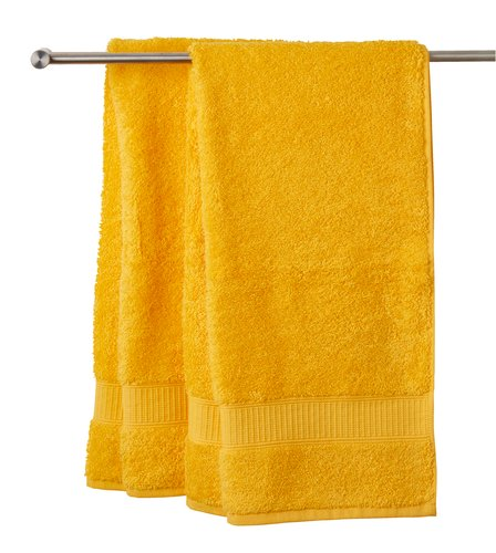 Lençol banho KRONBORG DE LUXE amarelo