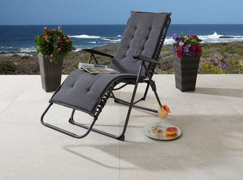 Cuscino poltrona relax HALDEN grigio
