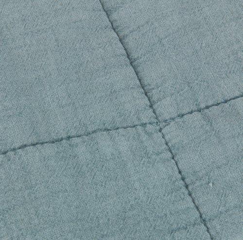Manta acolchoada VALMUE 130x180 azul