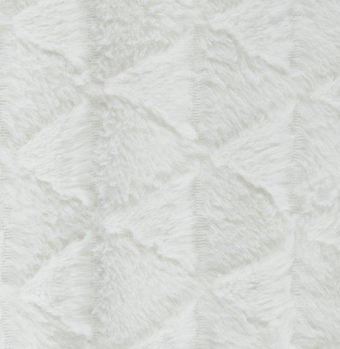 Plaid STENROS 130x170 råhvid