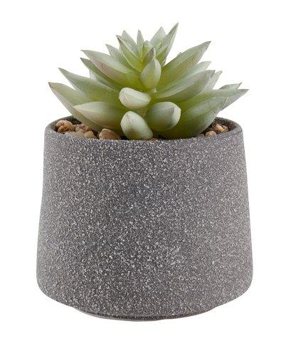 Pianta artificiale LUCAS Ø9xH12cm e vaso