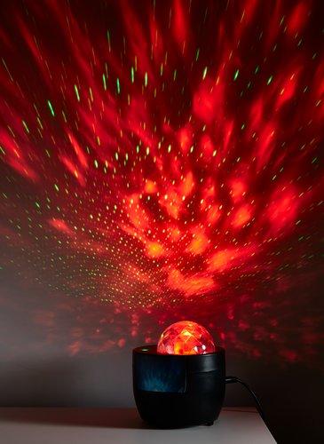 Projektor gwiezdny KARLO wielokolor. LED