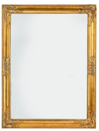 Зеркало NORDBORG 70x90см золотистый