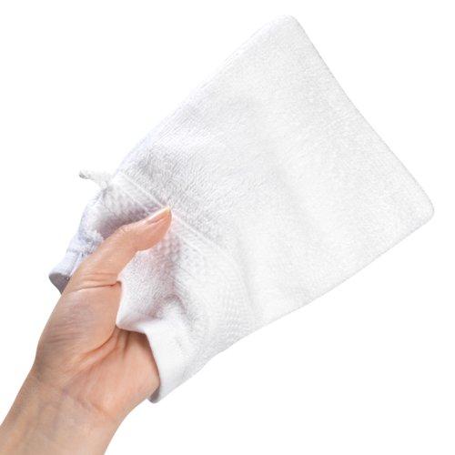 Gant de toilette UPPSALA 14x20 blanc