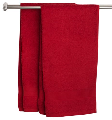 Guest towel KARLSTAD red