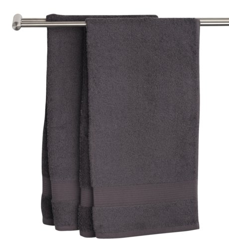 Badehåndkle KARLSTAD 70x140 mørk grå