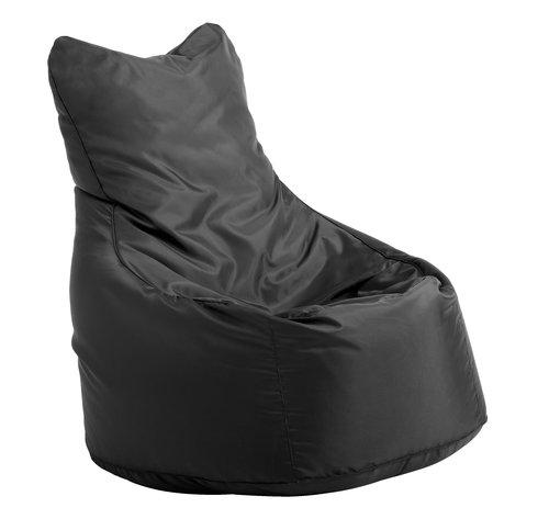 Vak na sedenie BAKHOLM 70x100x80 čierna