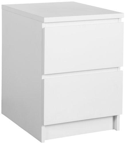 Noptieră LIMFJORDEN 2 sertare albă