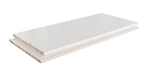 Ράφια TARP 98x45 2 τμχ/πκ λευκό