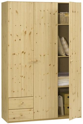 Skříň DALLERUP 132x201 borovice