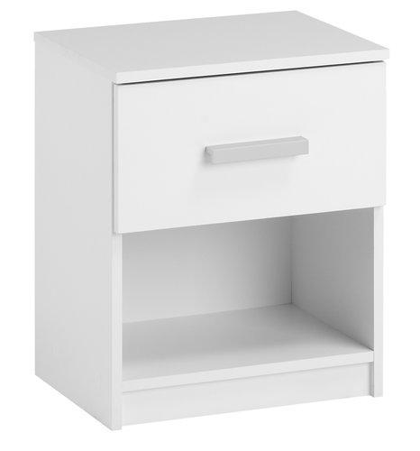 Comodino KABDRUP 1 cassetto bianco