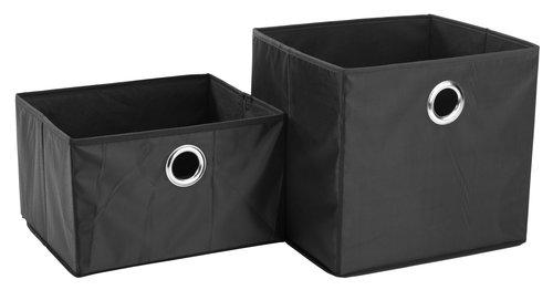 Košara FRANS 32x28x30cm črna