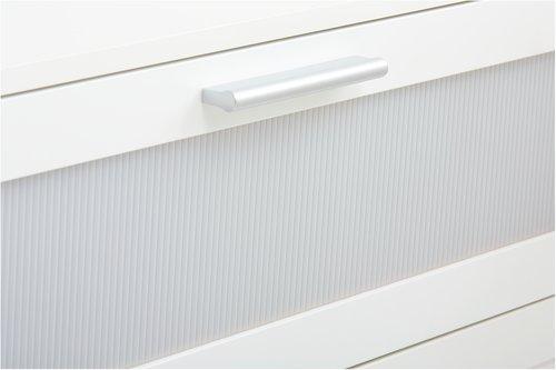 Comodă 3+3 sertare AABYBRO albă