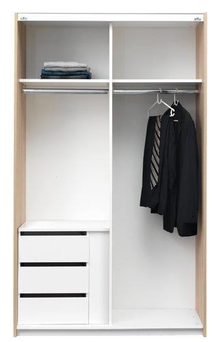 Betét TARP ruhásszekrényhez sz120 cm