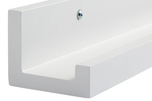 Półka na zdjęcia AGEDRUP 60cm biała