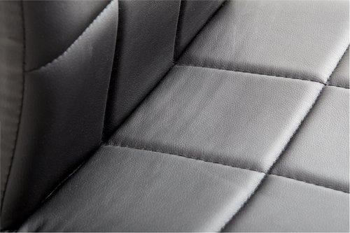 Ruokapöydän tuoli HAMMEL musta/kromi