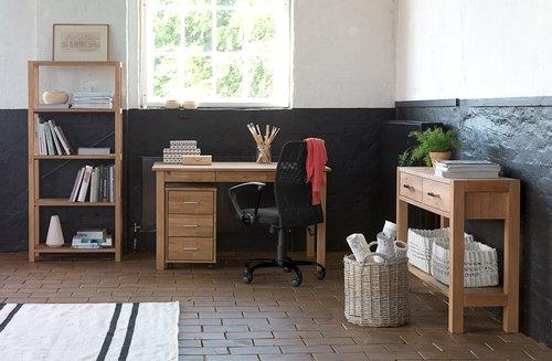 Krzesło biurowe DALMOSE czarne