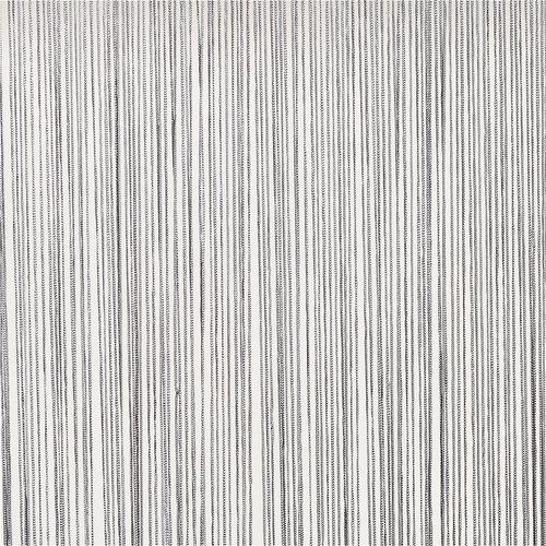 Provázková záclona NISSER 90x245 stříbr.