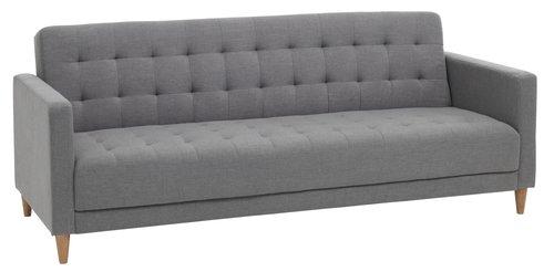 Canapea extensibilă FALSLEV gri
