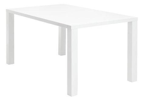 Τραπέζι τραπεζ. OMME 90x160 γυαλιστερό