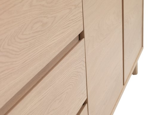 Sideboard KALBY 2 doors light oak