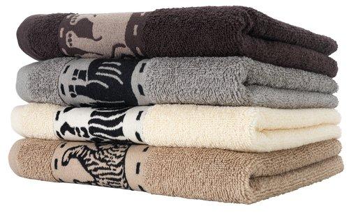 Ręcznik MALUNG 70x140cm beżowy