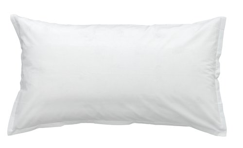 Putetrekk 50x90cm hvit KRONBORG