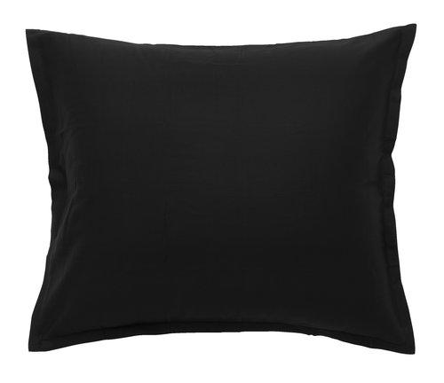 Satinörngott 50x60 svart KRONBORG