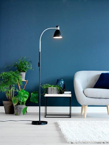Floor lamp HANSSON D22xH155 cm black