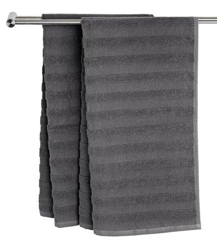 Bath sheet TORSBY grey