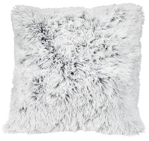 Almofada deco LOTUS 50x50 branco/cinz