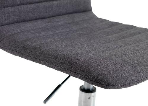 Krzesło biurowe ABILDHOLT c.szary/chrom