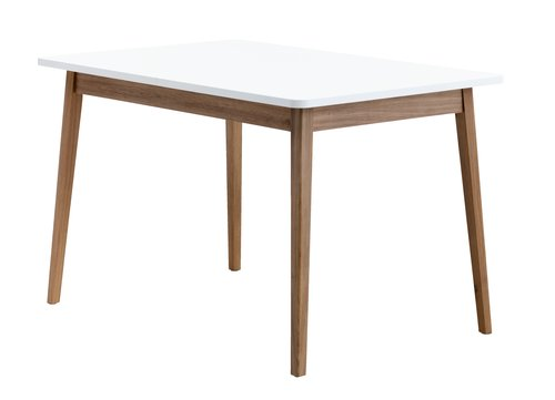 Blag. stol GAMMELGAB 80x120 hrast/bijela