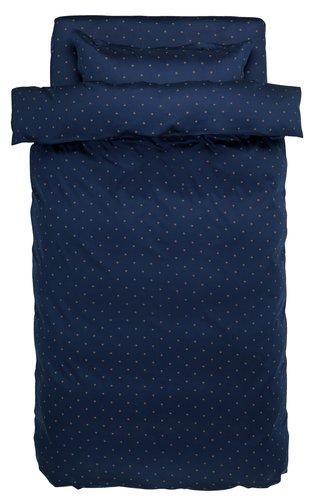 Спално бельо с чаршаф STELLA SGL синьо