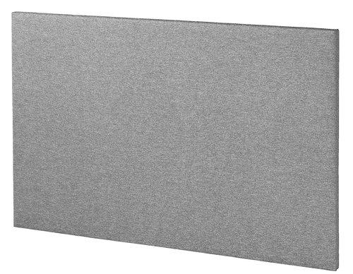 Sengegavl BASIC H5 180 plain grå