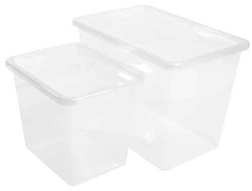 Förvaringsbox BASIC BOX 80L m/lock