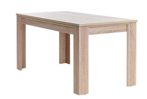 Tavolo da pranzo HALLUND 80x160 rovere