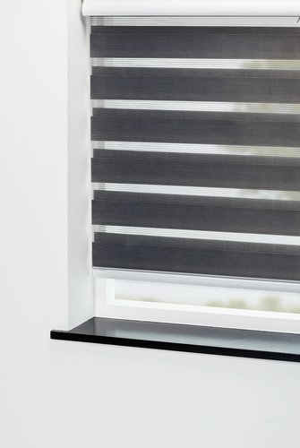 Roller blind Duo ALSTEN 180x180cm grey
