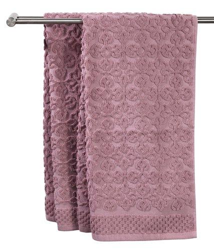 Håndklæde STIDSVIG 50x100 rosa