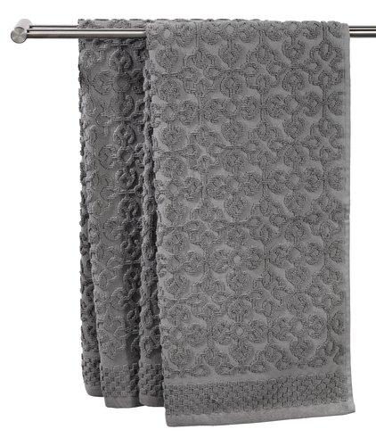 Πετσέτα μπάνιου STIDSVIG γκρι
