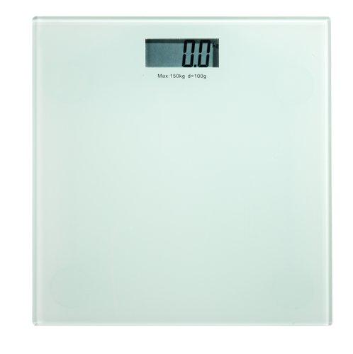 Kylpyhuonevaaka KROKEK lasi 150kg/100g