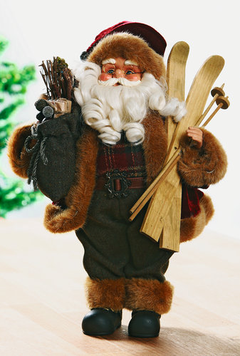 Djed Mraz GARM sa skijama V41 cm