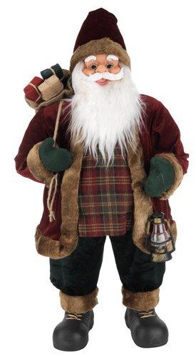 Украшение Дед Мороз HRYM В80 см с мешком