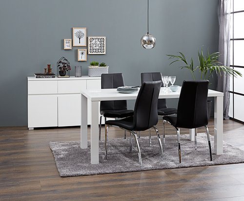 Spisebord OMME 90x160 højglans