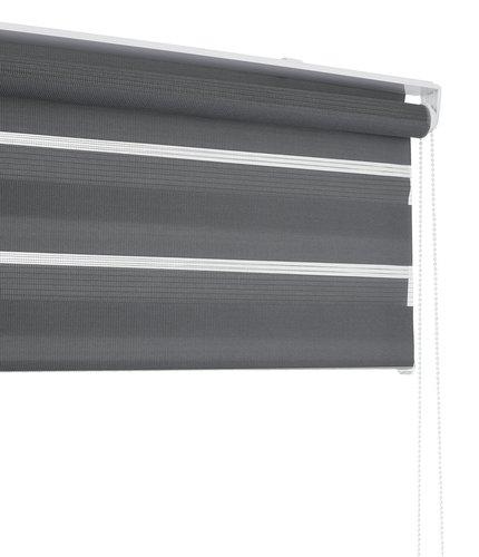 Tenda a rullo Duo IDSE 45x180cm grigio