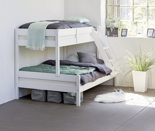 Krevet na sprat VESTERVIG 80/120x200 bel