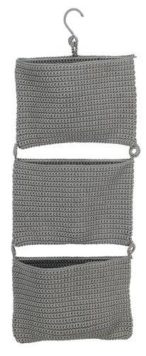 Hangende opbergers STOBY B29×H78cm grijs
